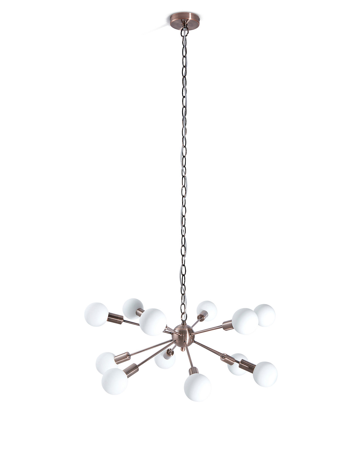 Ceiling Lights At Marks And Spencers : Marks and spencer dexter copper sputnik ceiling pendant