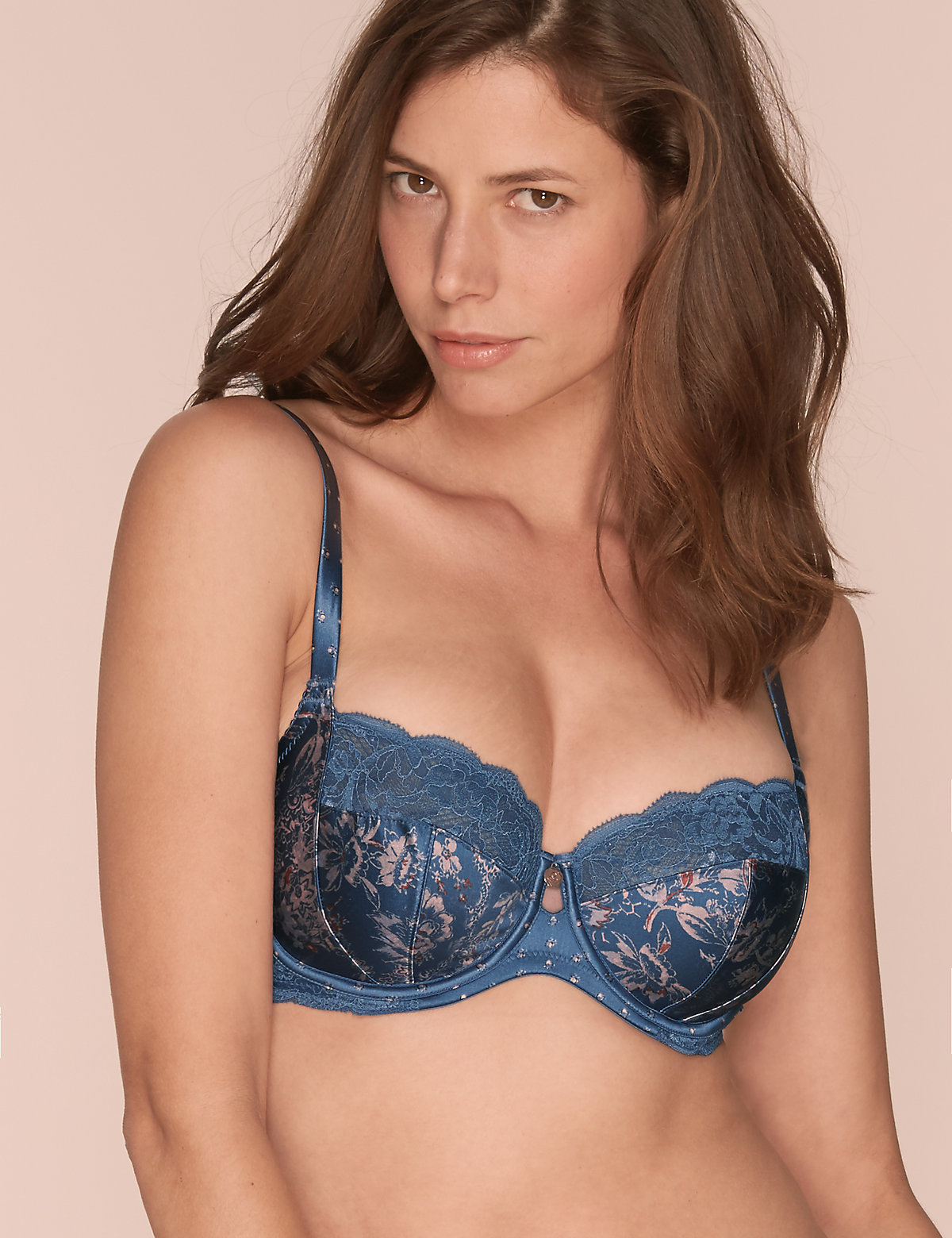 Rosie for Autograph Silk & Lace Non Padded Balcony Bra DD-G