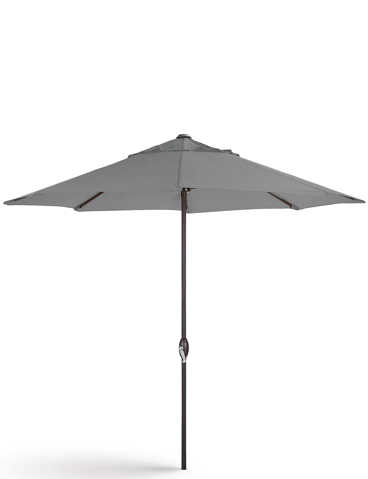 marks and spencer grey parasol black pole. Black Bedroom Furniture Sets. Home Design Ideas