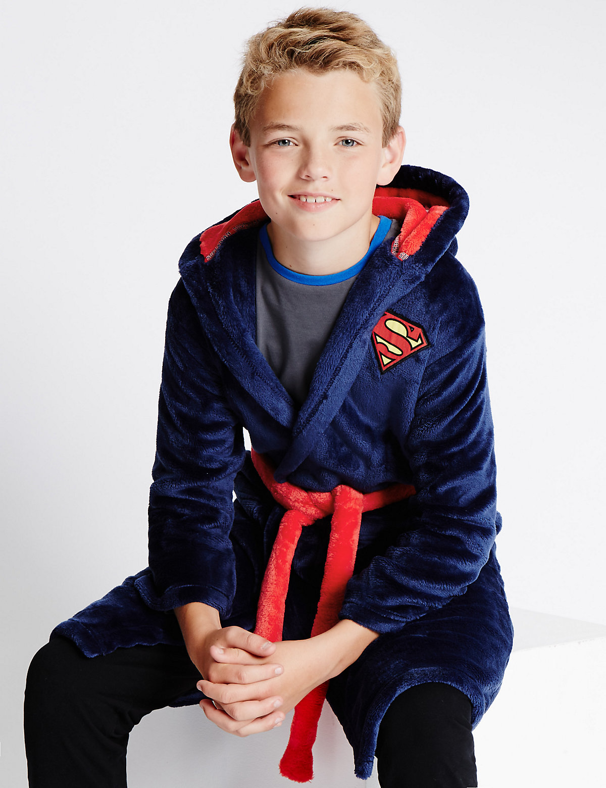 Superman Dressing Gown (3-14 Years)