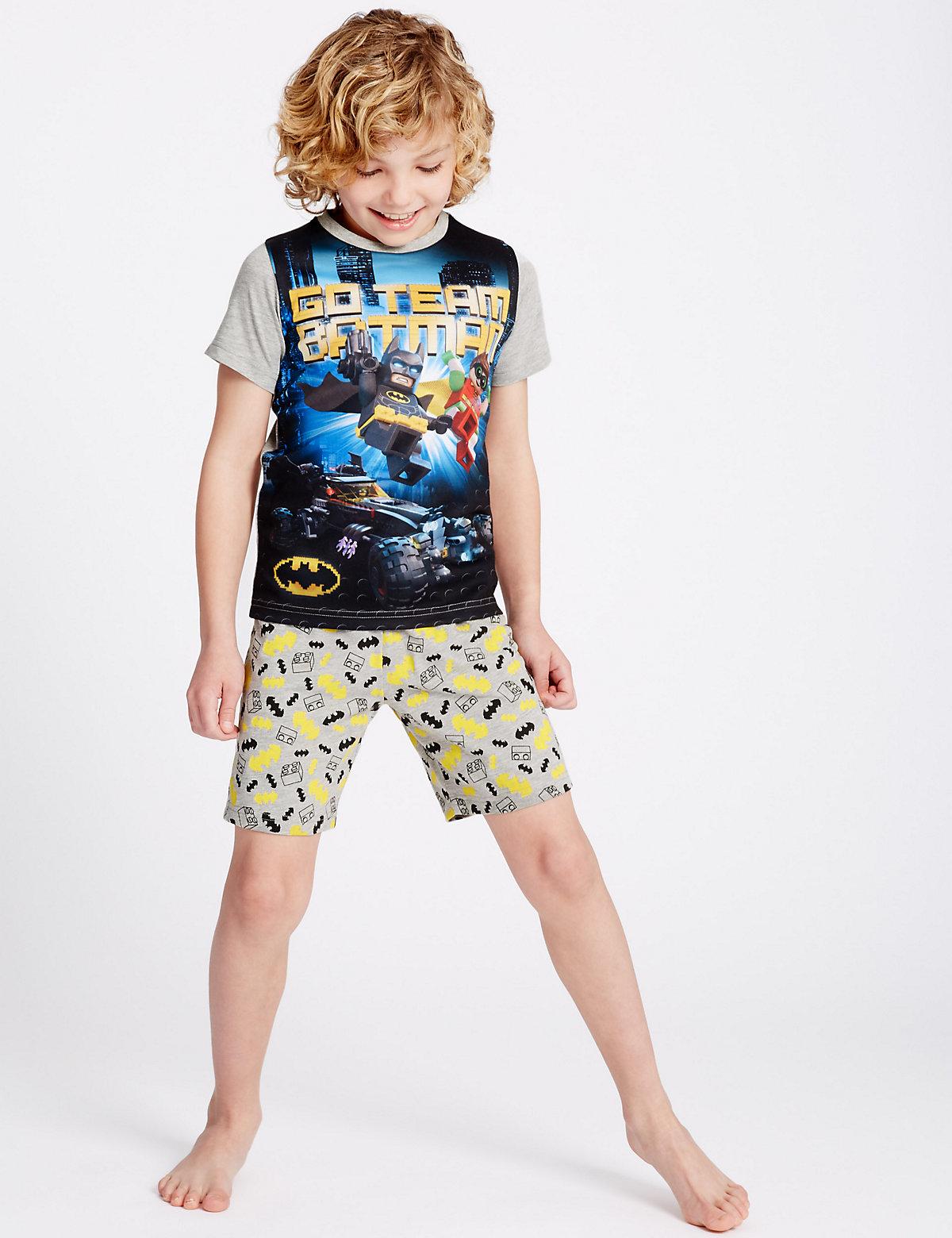 Lego Batman Short Pyjamas (3-14 Years)