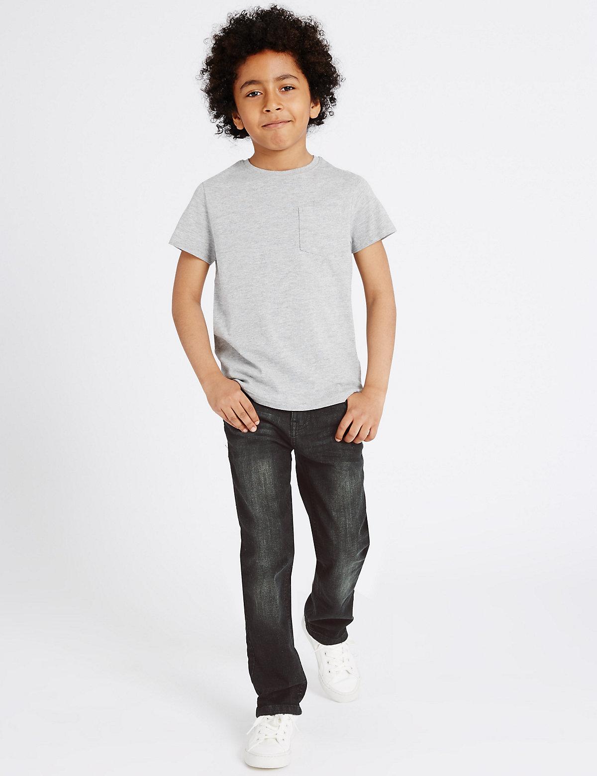 Cotton Rich Denim Jeans (3-14 Years)