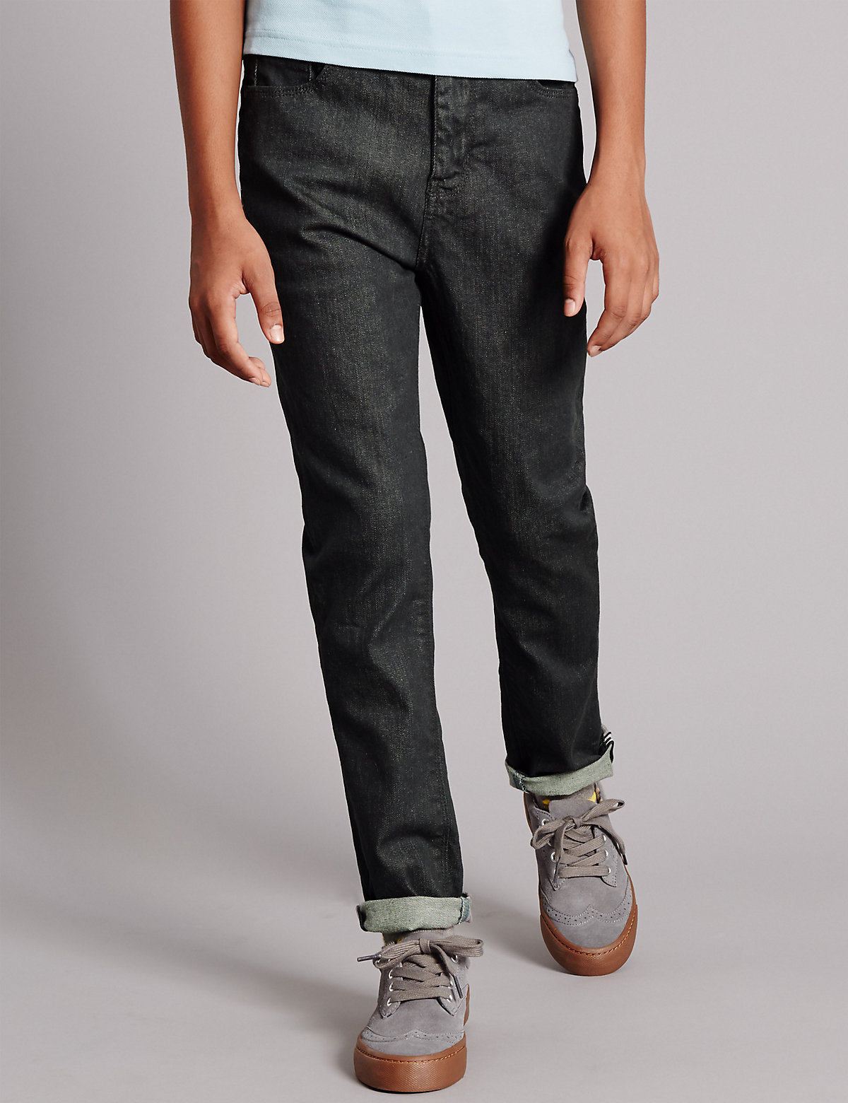Autograph Cotton Rich Slim Denim Jeans (5-14 Years)