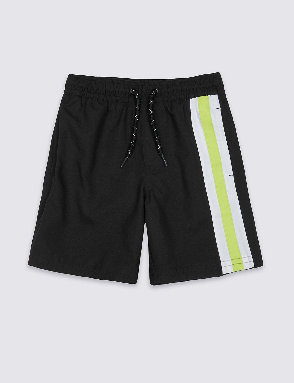 Striped Swim Shorts (3-14 Years).