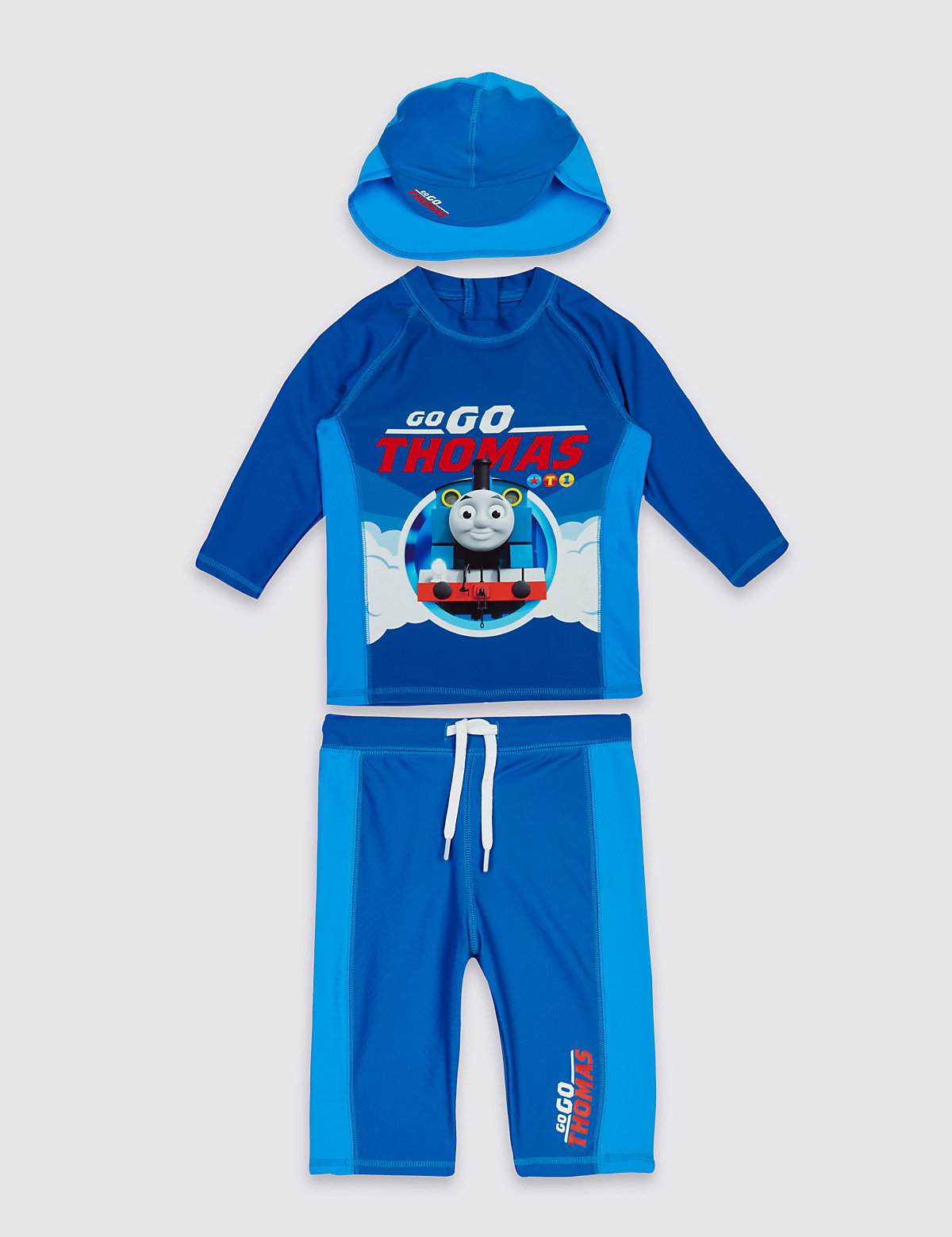 3 Piece Thomas & Friends Swim Outfit (3 Months  5 Years)