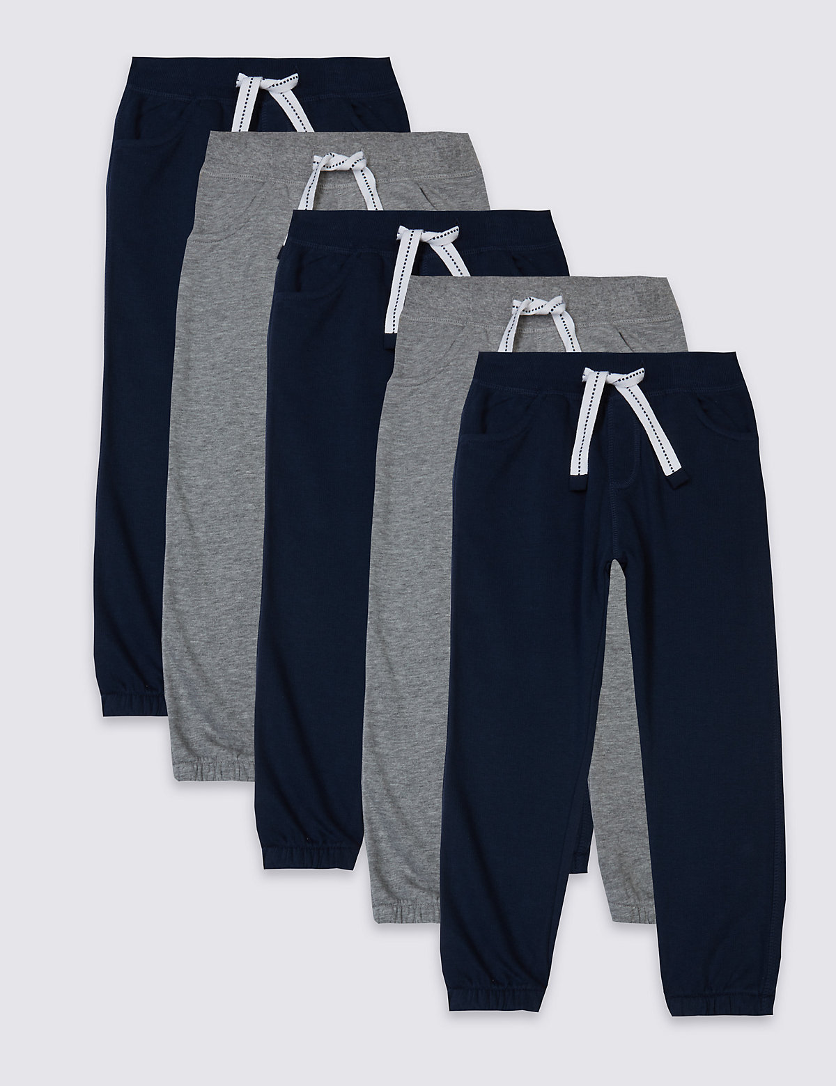 5 Pack Joggers (3 Months - 5 Years)