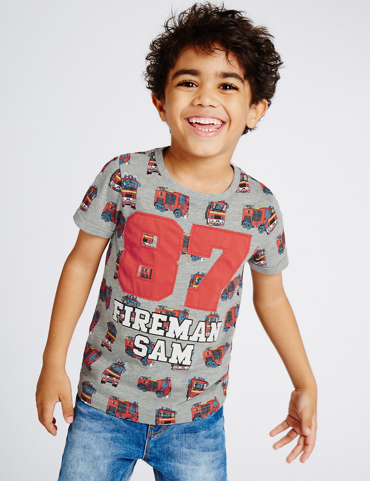 Cotton Rich Fireman Sam TShirt (15 Years)