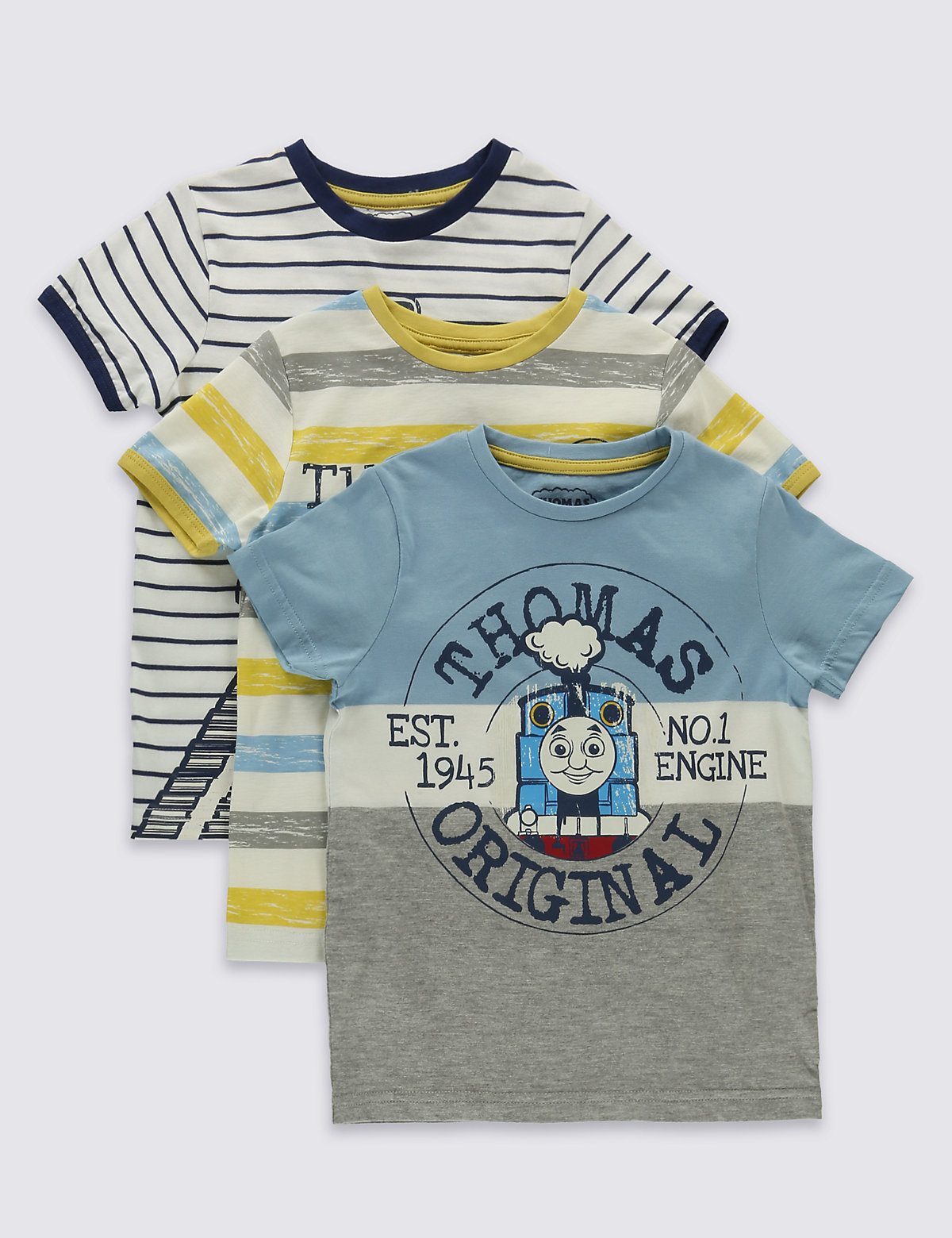 3 Pack Thomas & Friends TShirts (16 Years)
