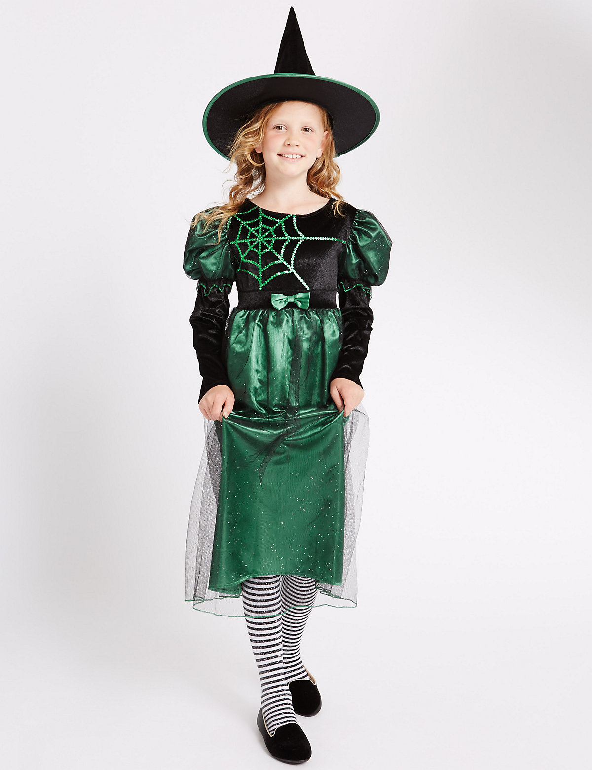 Kid's Witch Costume Dress