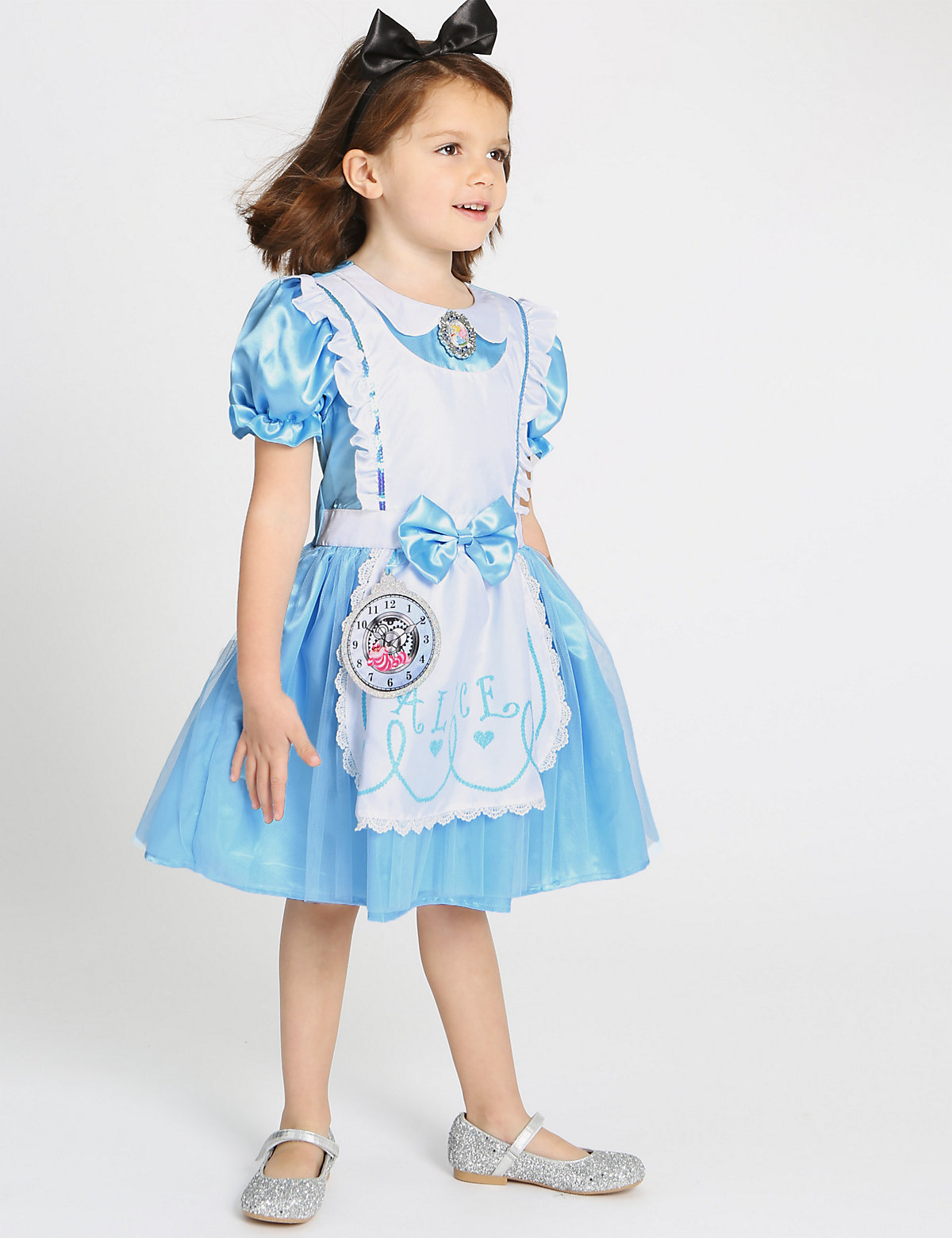 Kids Alice in Wonderland Dress Up Costume