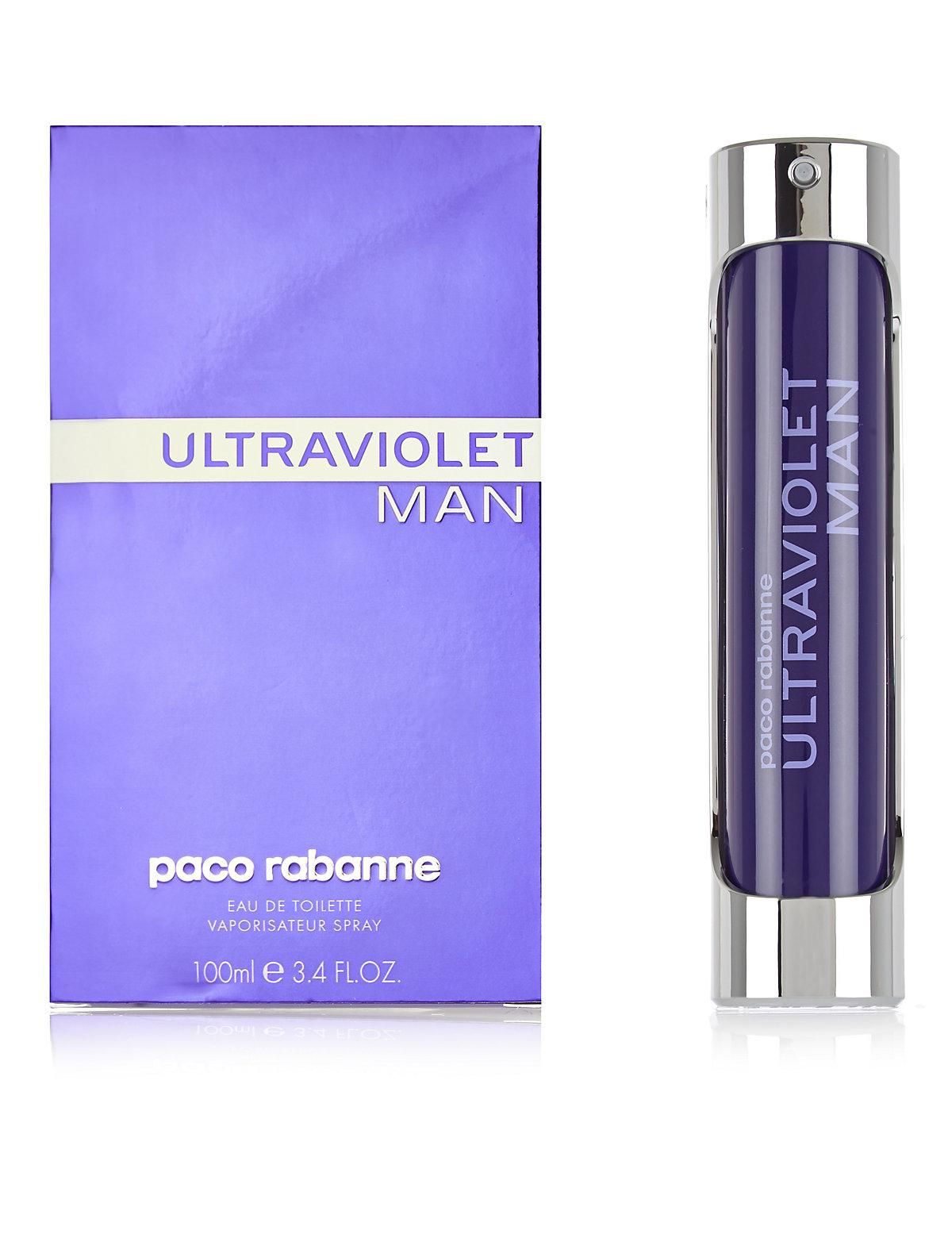 Paco Rabanne Ultraviolet Eau de Toilette Spray 100ml