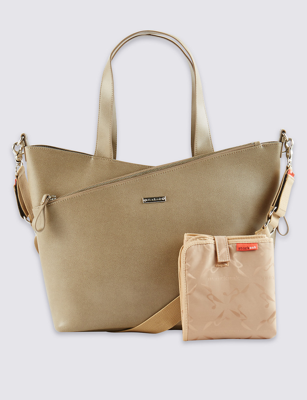 Storksak Lucinda Leather Bag