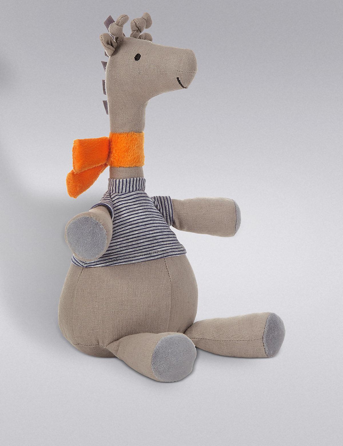 Giraffe Soft Toy Beige