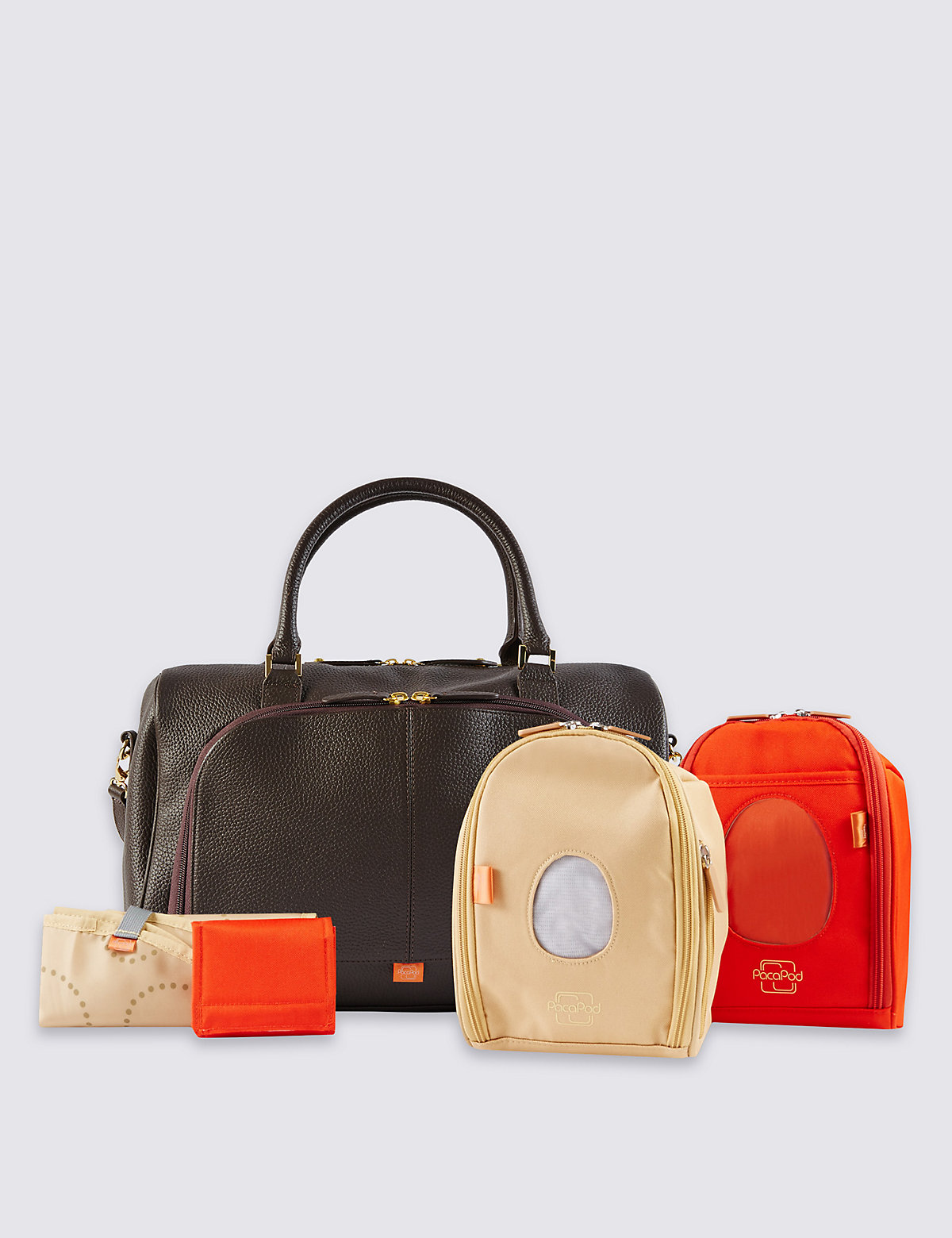 Pacapod Firenze Leather Changing Bag