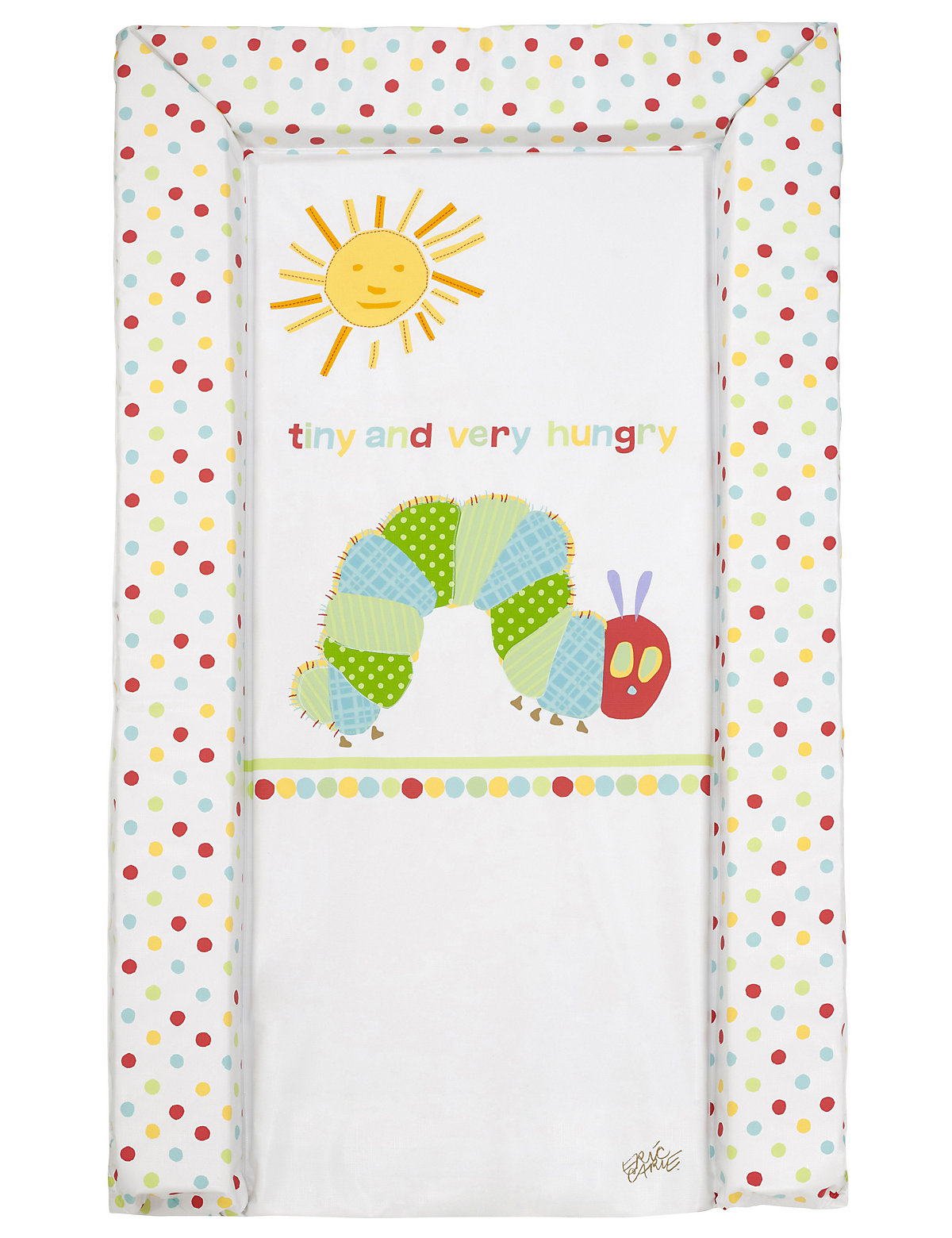 Tiny Very Hungry Caterpillar Changing Mat Multi Coloured