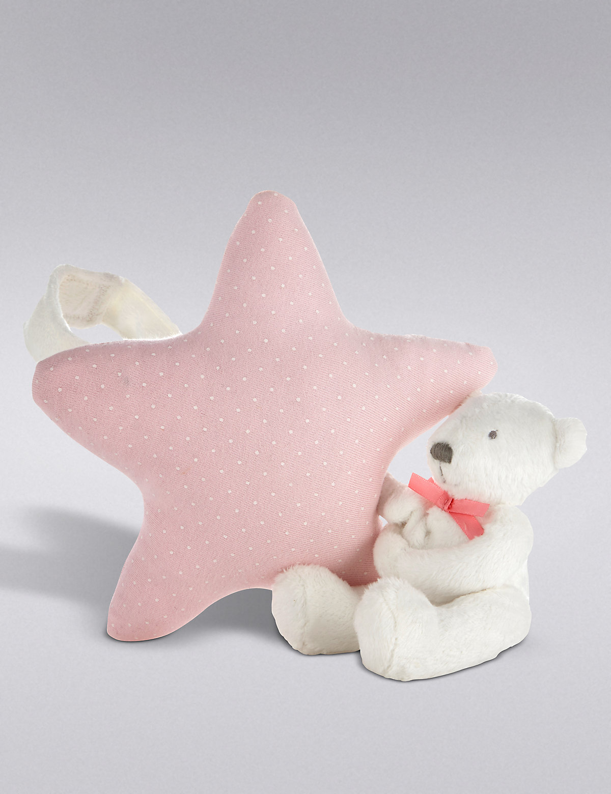Musical Cot Toy Pink