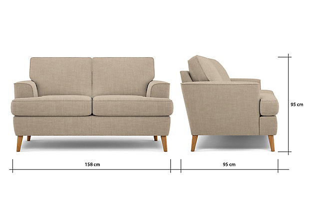 ZOOM. Copenhagen Compact Sofa Furniture