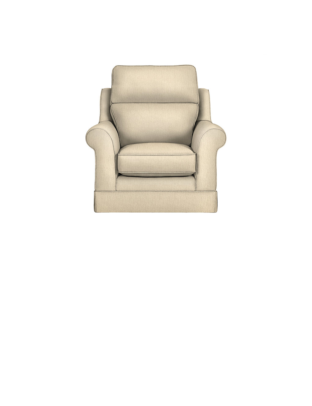 Colour by numbers richmond - The Richmond High Back Armchair