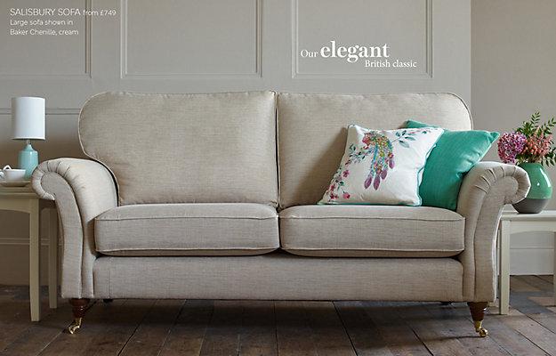 ZOOM. Salisbury Large Sofa Furniture