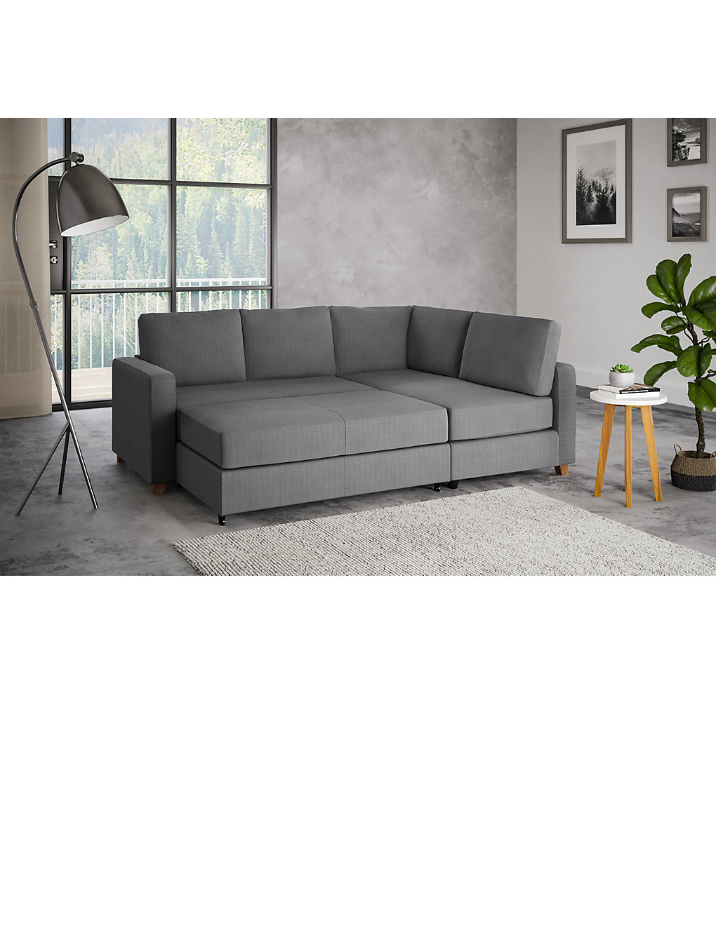 Tromso Corner Sofa Bed (Right Hand)