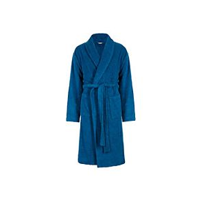 Blue mens dressing gown robe