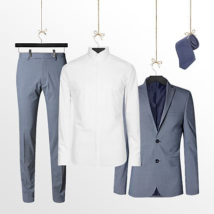 Free selected shirt and tie with every £99 suit