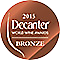 Decanter World Wine Awards Bronze 2015