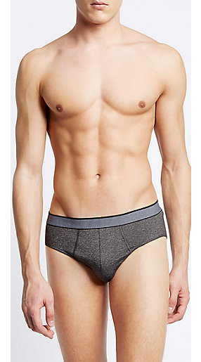 Man wearing underwear briefs
