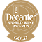 Decanter World Wine Awards Gold 2014