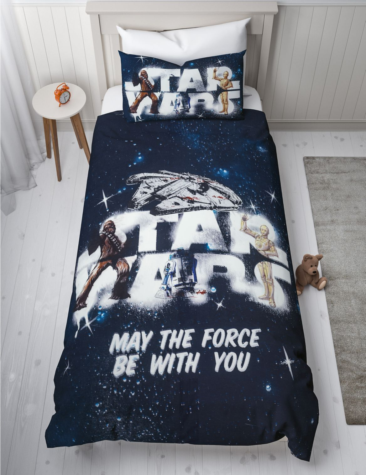Star Wars™ Reversible Bedding Set navy mix