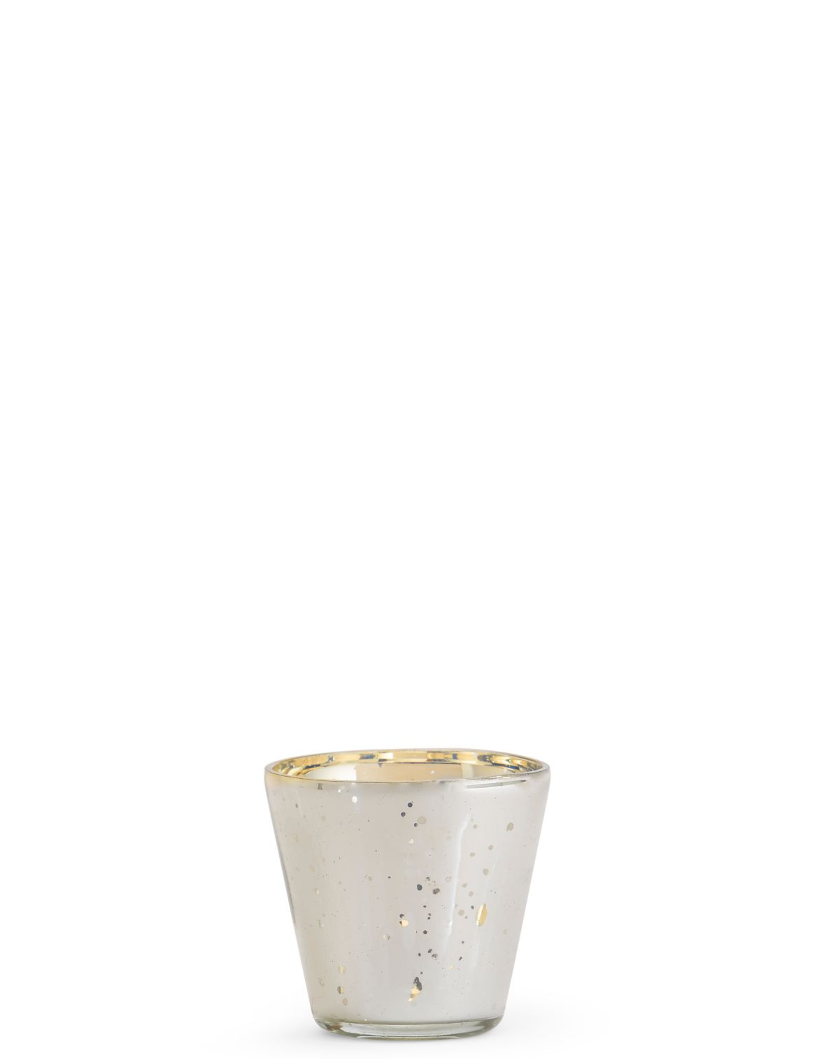 Mercury Glass Tea Light Holder silver mix