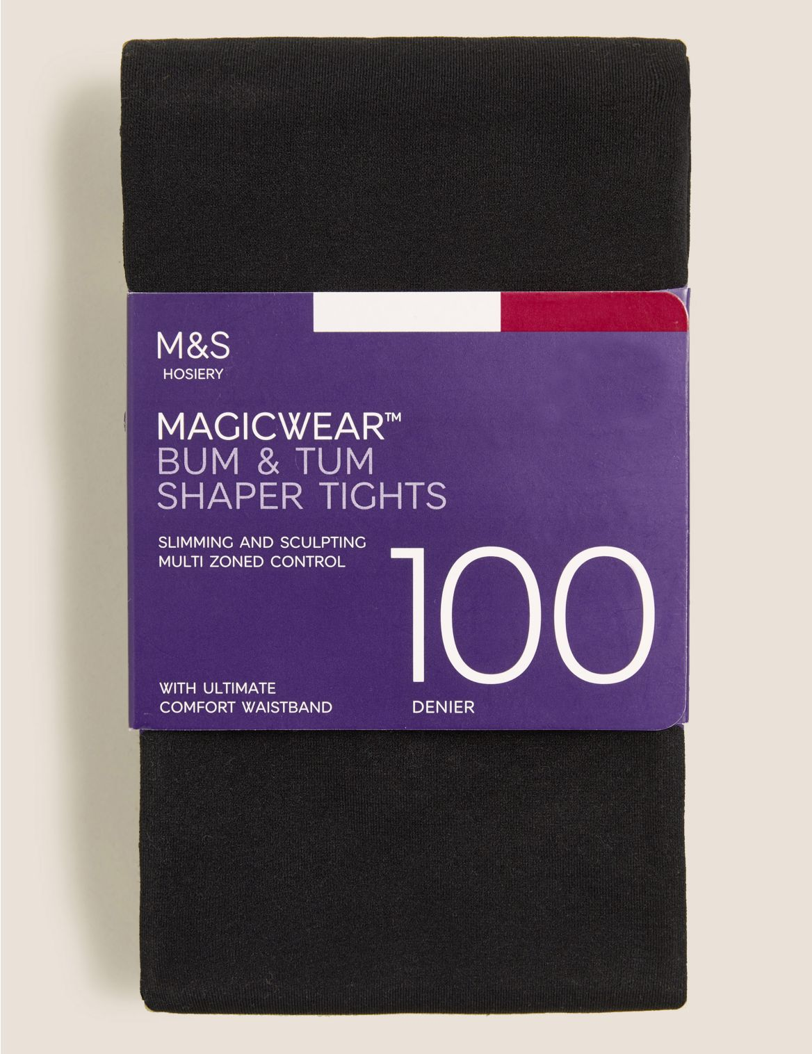 100 Denier Magicwear™ Shaper Tights black