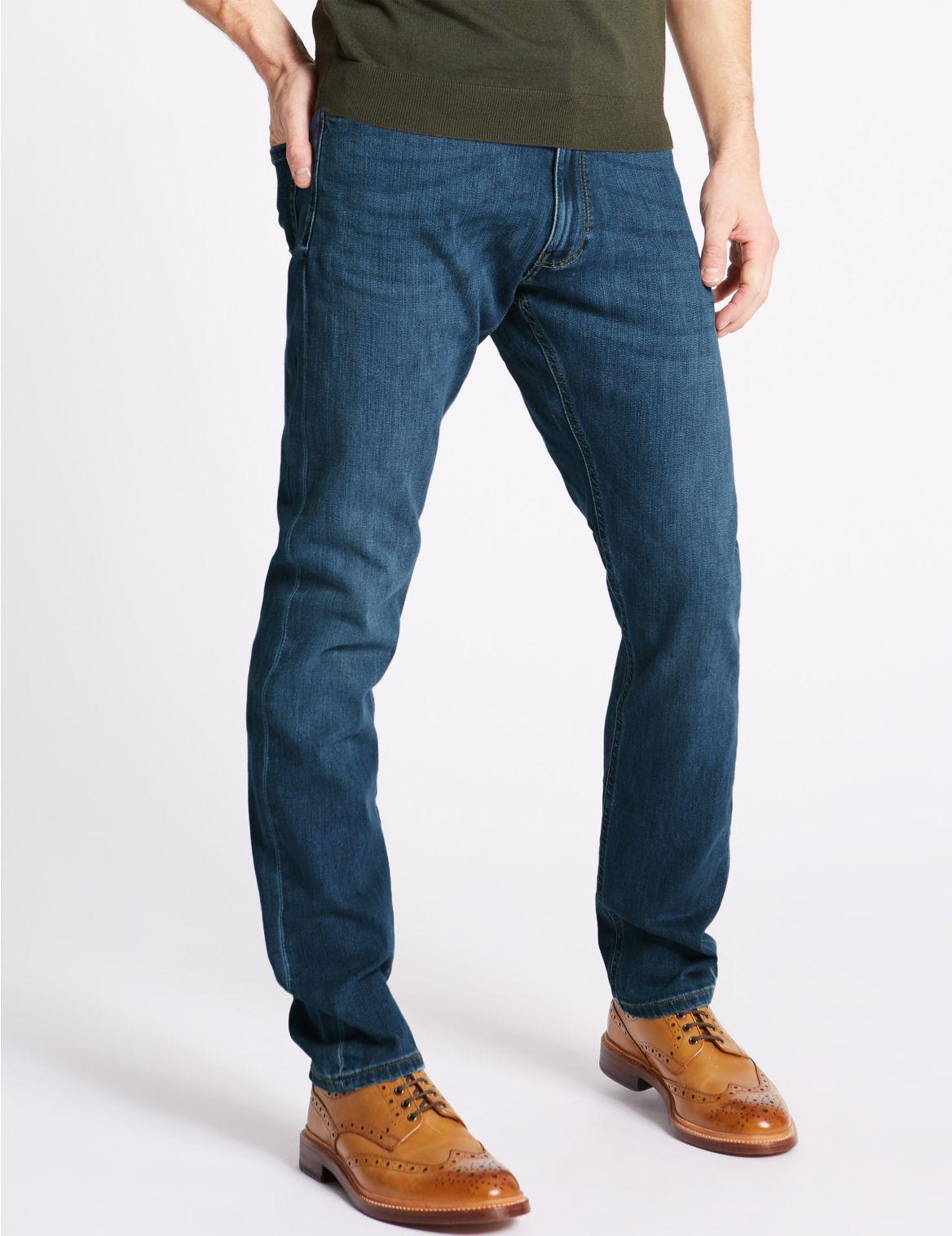 Performance– Jean slim de qualité supérieure