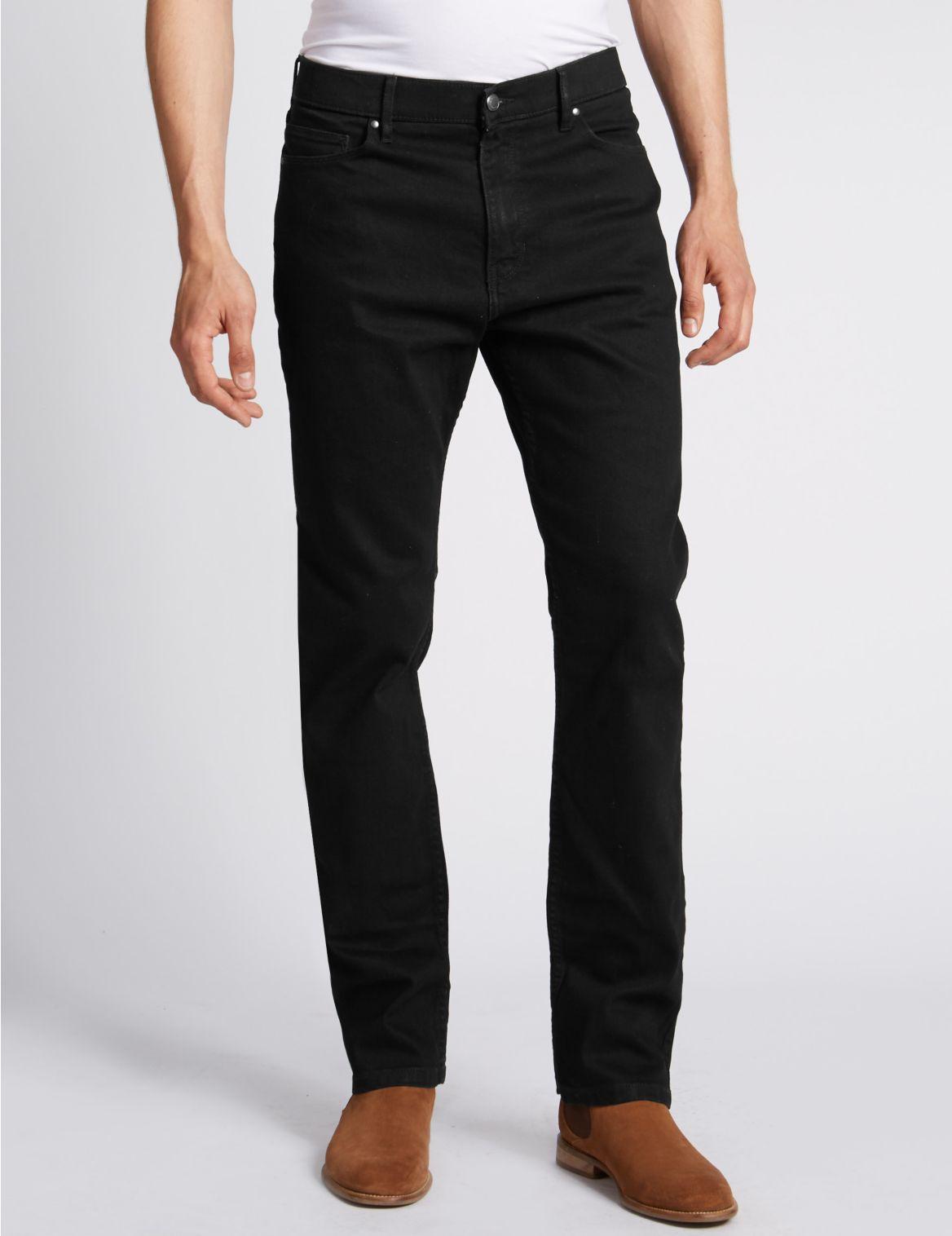Grandes tailles– Jean extensible coupe standard, doté de la technologie Stormwear™