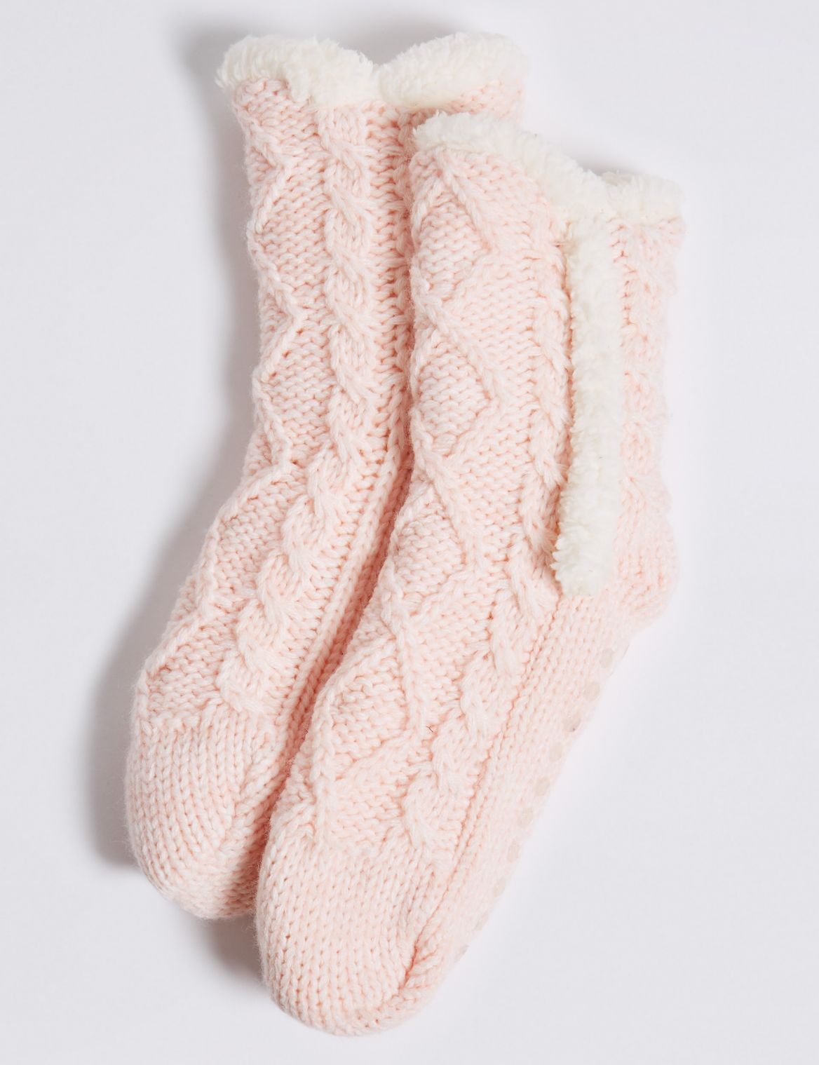 1 Pair of Knitted Socks (2-14 Years) multi