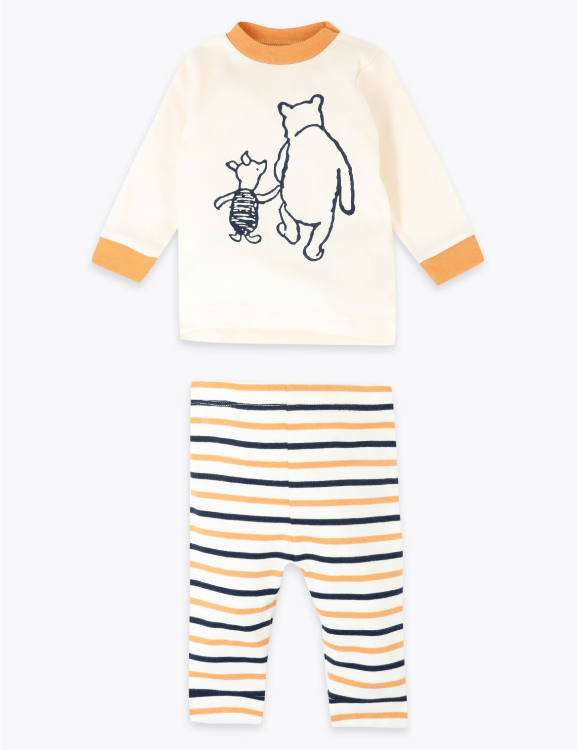 Winnie the Pooh & Friends™ Top & Leggings Outfit cream mix