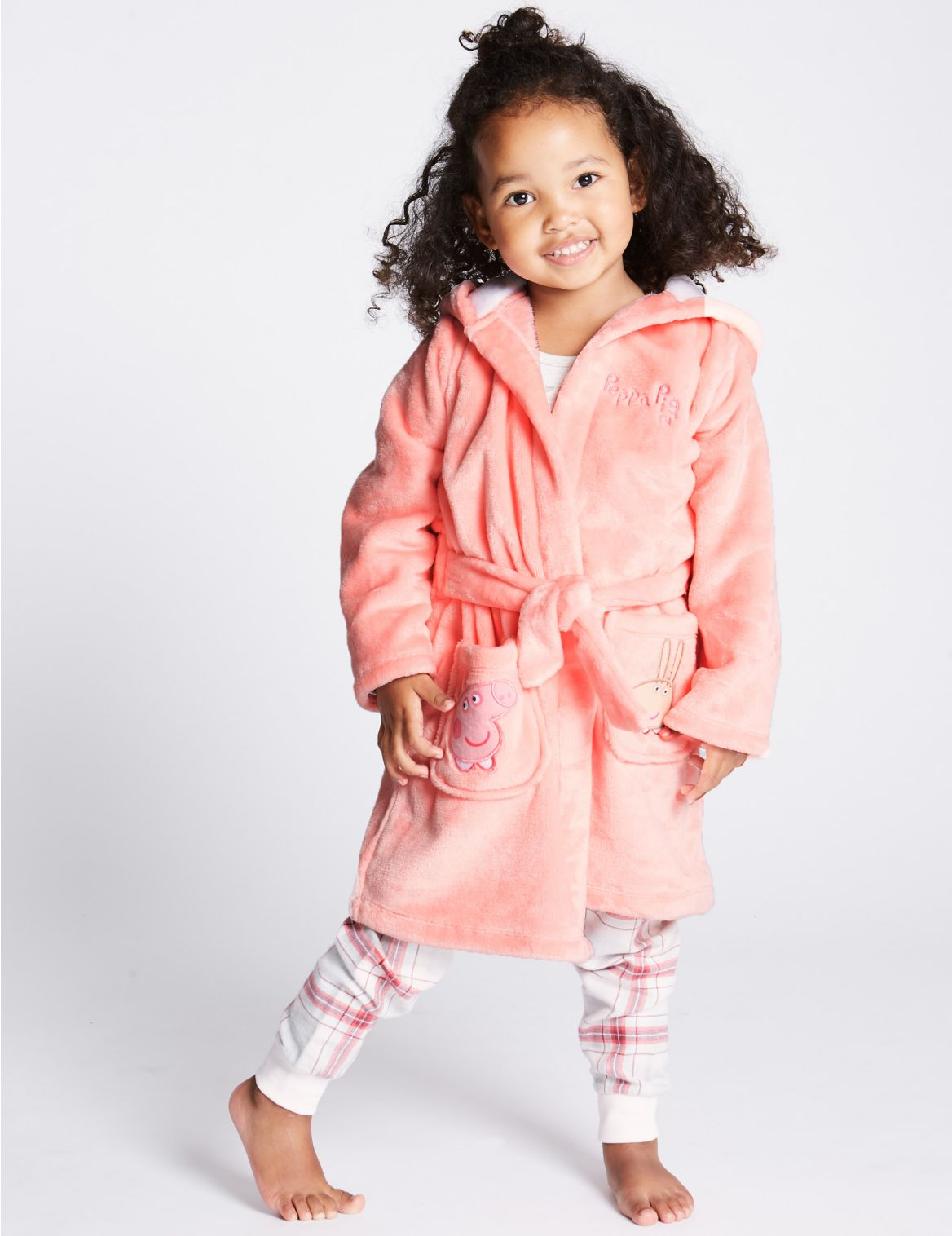 Peppa Pig™ Dressing Gown (1-7 Years) pink mix