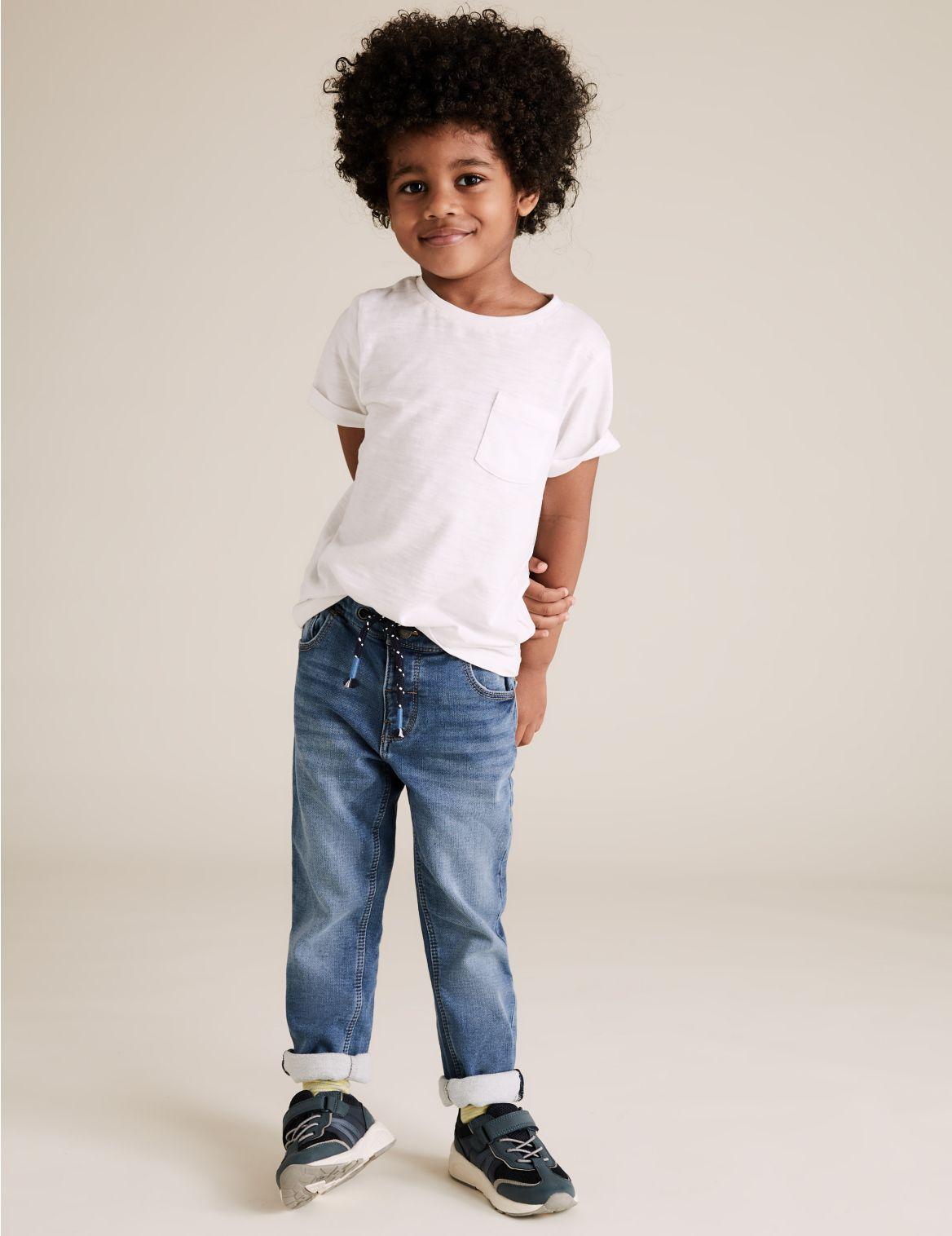 Cotton Rich Jeans (3 Months – 7 Years) blue denim
