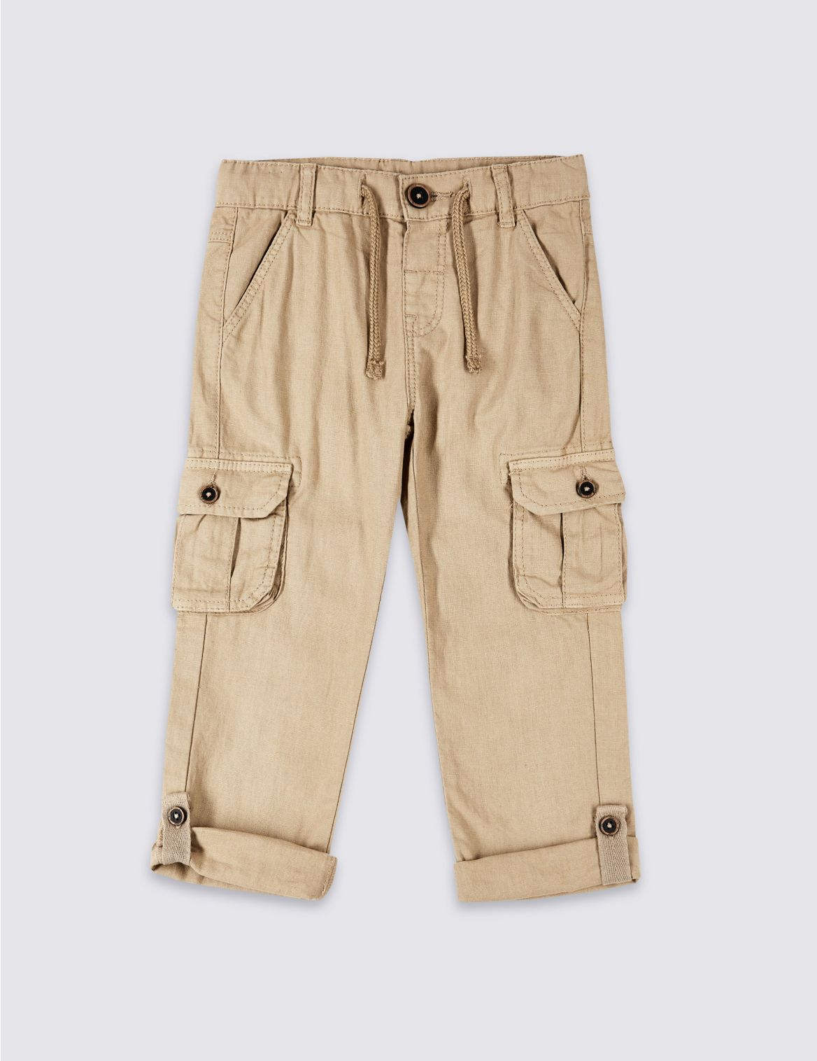 Cargo Trousers (3 Months – 7 Years) stone