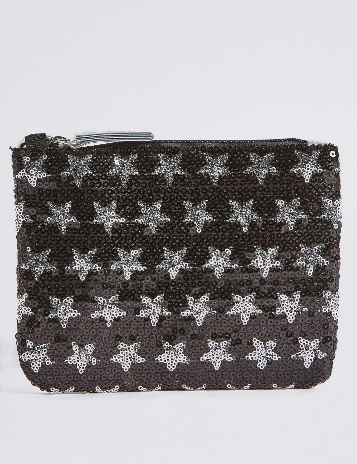 Kids' Sequin Phone Bag black mix