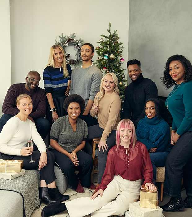 A Majestic Christmas Cast.Meet The Stars Of The M S Food Christmas Tv Ad