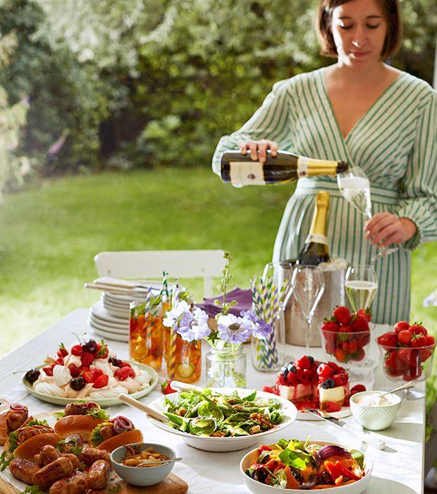 Recipes And Ideas For A Summer Garden Party