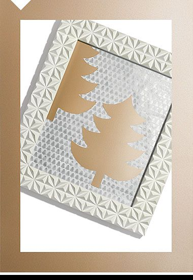 White textured photo picture frame