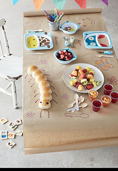 Kids' party table ideas
