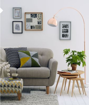 Scandinavian furniture style Table Lamp Laidback Living Marks Spencer How To Do Scandinavian Style At Home