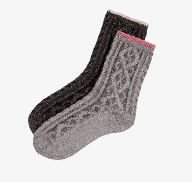 Thermal socks with wool