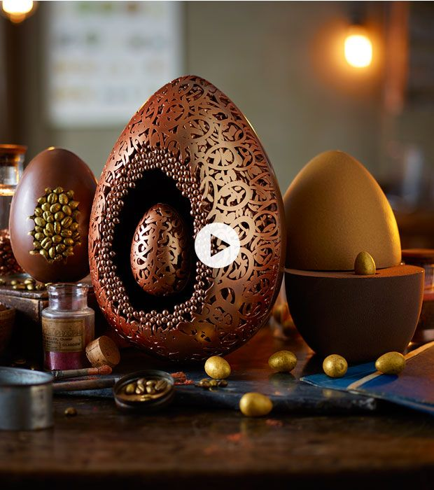 Marks and spencers luxury easter eggs in the moment negle