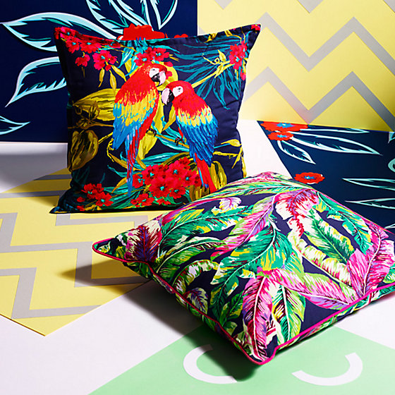 The Tropical Print Cushions