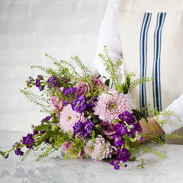 how to tie a bouquet of flowers
