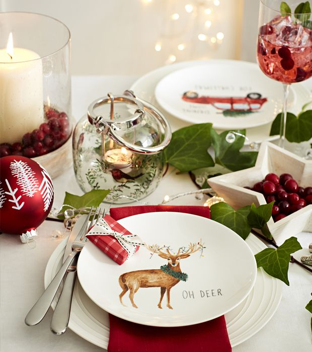 How To Perfect Your Christmas Table Decorations: Easy Christmas Table Ideas